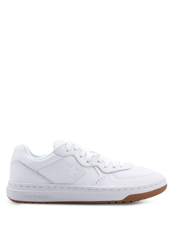 9559f44d9c44 Converse white Rival Double Double Ox Sneakers F3A7CSHF96FA6CGS 1. CLICK TO  ZOOM