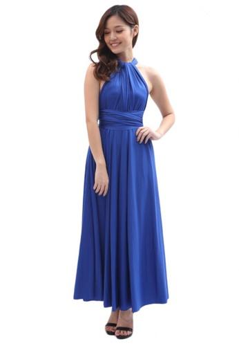 af6b7917c7a COVETZ Wedding blue Kaelyn Convertible Maxi Dress - Royal Blue  CO611AA47TRCMY 1