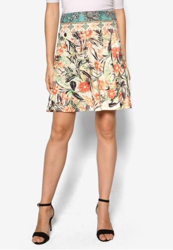 Shiesprit 門市a 印花短裙, 服飾, 迷你裙