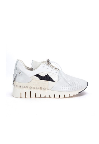 Shu Talk white A.S.98 HOT Stud Easy Straps Stylish Sneakers BBAEBSH5389509GS_1