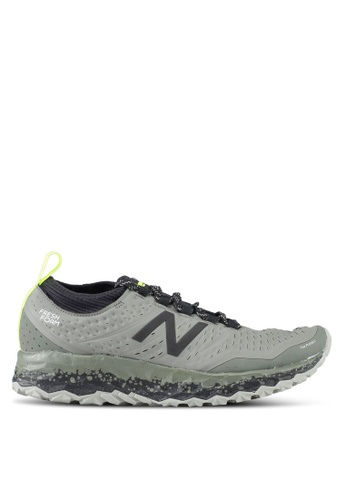 New Balance grey Hierro V3 Fresh Foam Performance Running Shoes NE323SH0SW9LMY_1