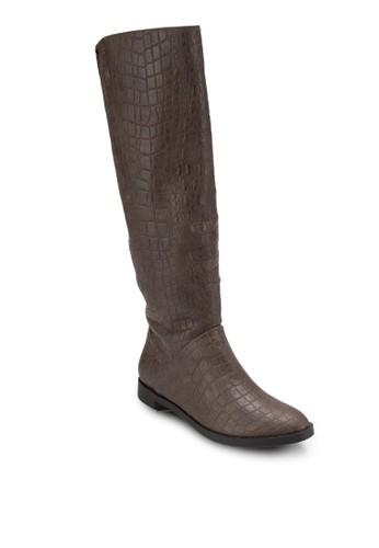 仿皮高筒靴、 女鞋、 鞋BETSY仿皮高筒靴最新折價