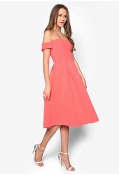 Bardot Sleeve Dress