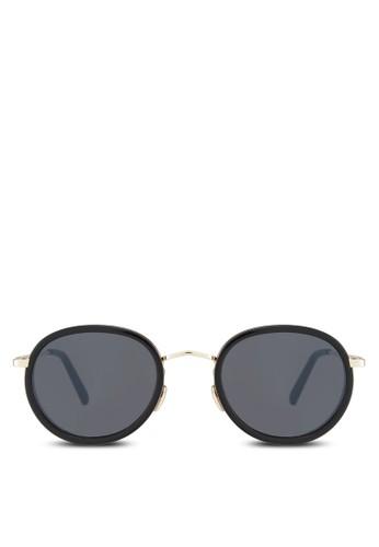Pauesprit 台北l 印花圓框太陽眼鏡, 飾品配件, 圓框