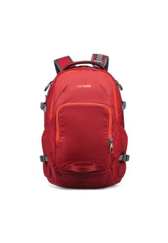 Pacsafe red Pacsafe Venturesafe 28L G3 Anti-Theft Backpack (Goji Berry) BCF23AC12FA41DGS_1