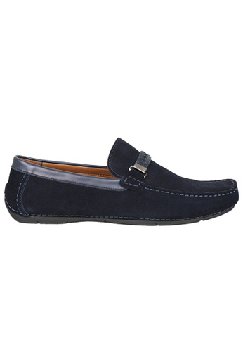 Tomaz blue Tomaz C337 Braided Buckled Loafers (Navy) E8304SH6931FF8GS_1