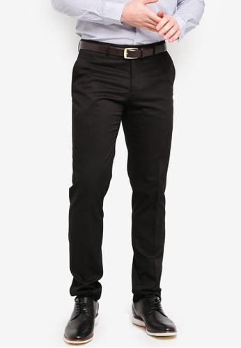 62a42e1c Buy OVS Slim-Fit Stretch Trousers Online   ZALORA Malaysia