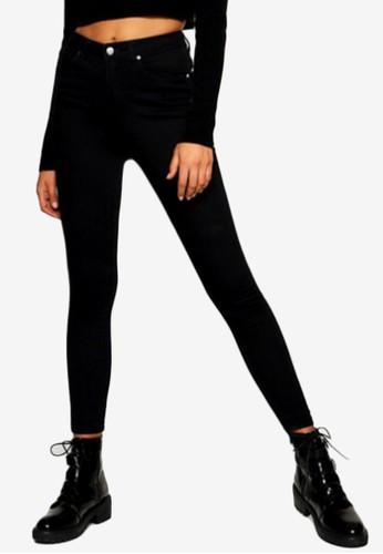 Boohoo black Super High Waist Power Stretch Skinny Jeans 2C994AAAFA7129GS_1