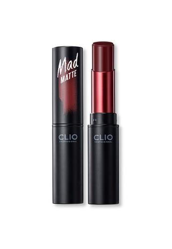 Clio Professional red Clio Professional Mad Matte Lip 04 Bloody Wine DA4B7BED748FE4GS_1