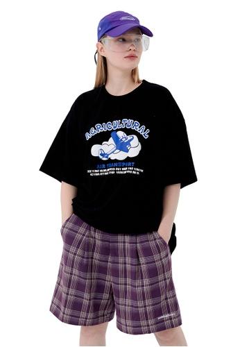 Twenty Eight Shoes Foam Printed Short T-shirt HH1152 36CE3AA9EC48F6GS_1