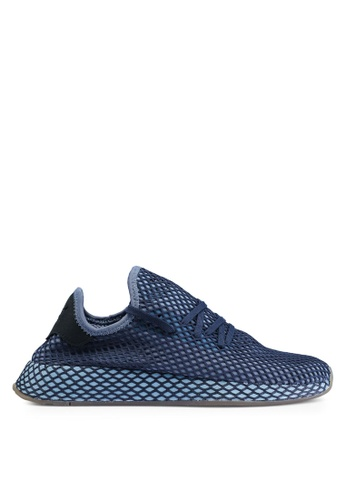 adidas blue adidas originals deerupt runner sneakers 55F45SHDE05FA5GS_1