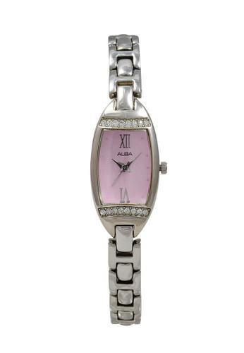 Alba silver ALBA Jam Tangan Wanita - Silver Pink - Stainless Steel - AC3Q81 4B4F5AC378015FGS_1
