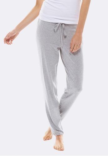 Deshabille grey Abigail Pants DE081US0HC3ASG_1