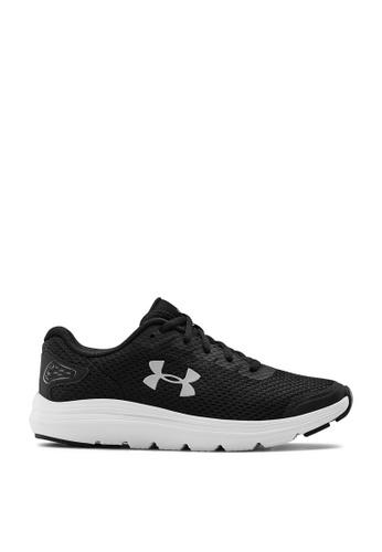 Under Armour black UA W Surge 2 Sneakers 8346ASHBE169BFGS_1