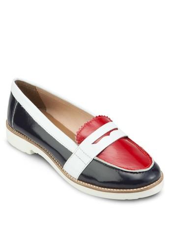 Audacieux 色塊漆皮樂福鞋, 女esprit outlet 台灣鞋, 鞋