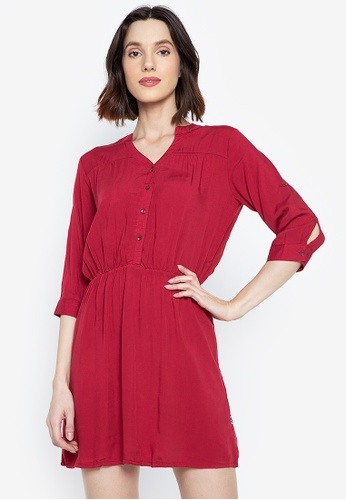 Stylistic Mr. Lee red Regular Fit Dress 10D2FAAE143397GS_1