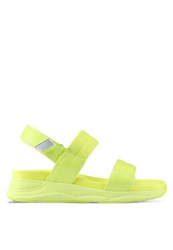 ALDO yellow Eloima Flat Sandals E6152SH16E8408GS_1