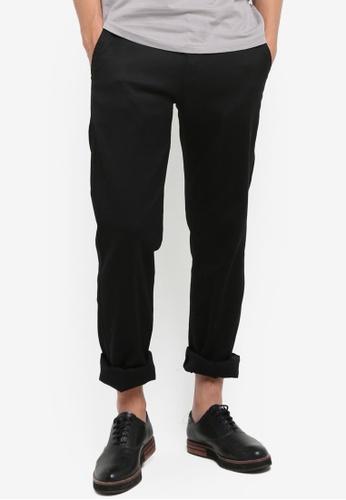 Fidelio black 434 Slim Straight Chino Pants FI826AA38NSJMY_1