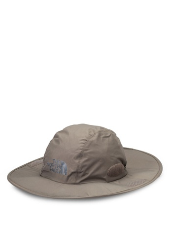 The North Face brown Dryvent Hiker Hat TH274AC72IDVMY_1