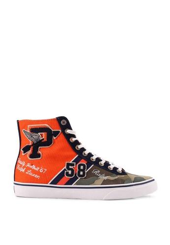 polo ralph lauren multi Solomon II Sneakers 395CASHBF1C91CGS_1