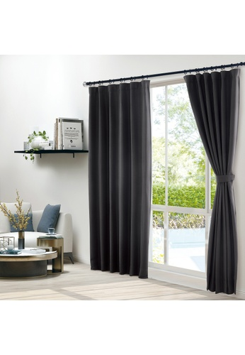 Epitex white Epitex Clasica CLA301-3 Ready Made Curtain (Black) F2178HLA161706GS_1