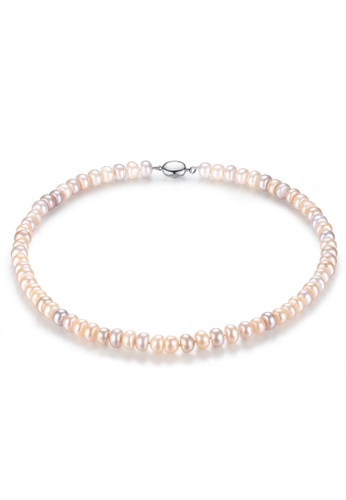 A.Excellence white Premium Color Pearl Elegant Necklace 0DD58ACE63F132GS_1