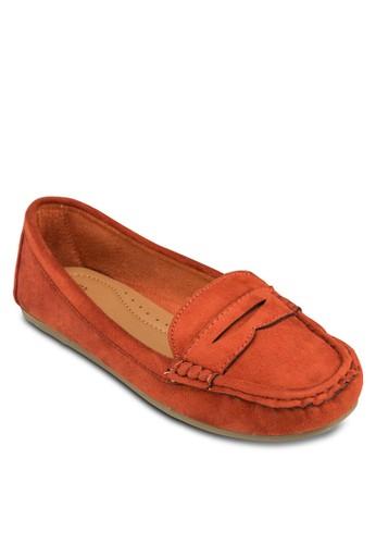 仿麂zalora時尚購物網評價皮樂福鞋, 女鞋, 鞋