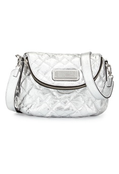 bd748d91451f Club West silver Marc By Marc Jacobs Silver New Q Natasha Quilted Crossbody  Bag CL139AC84ERNPH 1