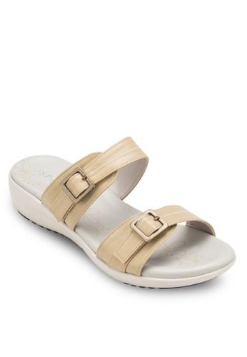 雙扣環帶厚底涼鞋, 女鞋, 涼esprit暢貨中心鞋