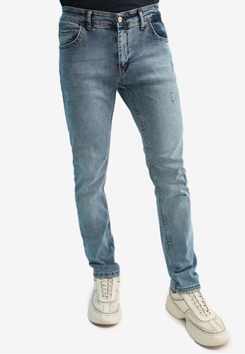 Trendyol blue Skinny Fit Jeans 42345AA4E337E5GS_1