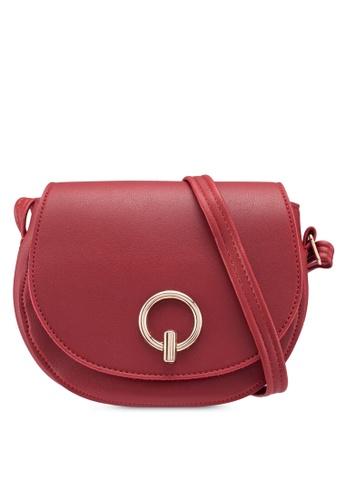 Verchini red Mini Stylo Sling Bag E671AACA2E1B16GS_1