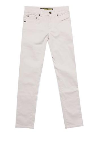 SHARKS white Basic Slim Pants 8977BKAB8A62CDGS_1