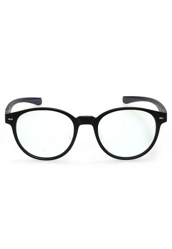 Hamlin black Ells Kacamata Modular Anti BlueLight Unisex Frame Material TR90 ORIGINAL - Black 08D81GLD02A1B8GS_1