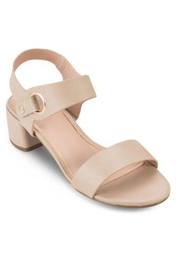 DART 踝帶方跟涼zalora鞋子評價鞋, 女鞋, 鞋