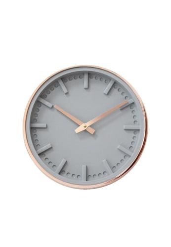 DILAS HOME Robotti Minimalist Wall Clock C514BHL13040D1GS_1