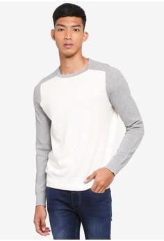 雙色長袖T恤