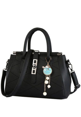 TCWK black Ladies Handbag TC258AC34YMJMY_1