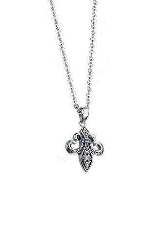 ADORA Stainless Steel Pendent Necklace F37BCAC9EDF952GS_1