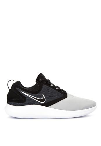 Nike Black And Grey Men S Lunarsolo Running Shoes Ni126sh0jb80ph 1