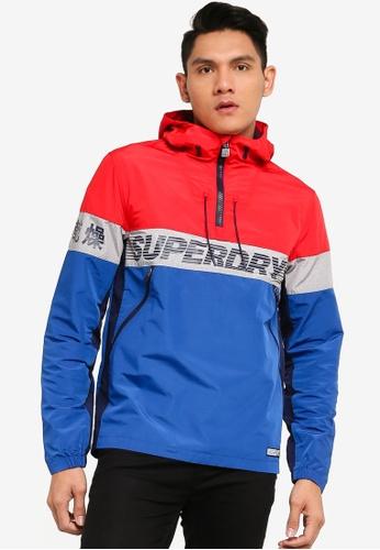 SUPERDRY red Ryley Overhead Jacket CA84DAA8D9D19BGS_1