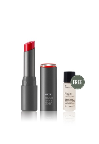 THE FACE SHOP red Glossy Touch Lipstick RD01 2F76BBEC259760GS_1