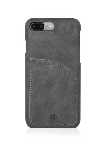Monocozzi black EXQUISITE Genuine Leather Case with Pocket for iPhone 7 Plus - Black MO983AC57IPEHK_1
