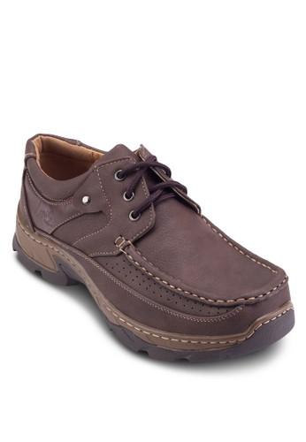 拼色繫esprit旗艦店帶莫卡辛鞋, 鞋, 鞋