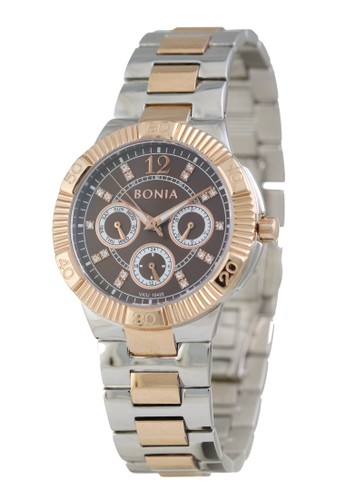 Bonia silver Bonia - BP10425-2645 - Jam Tangan Wanita - Silver Rosegold 5A3ADACBC73722GS_1