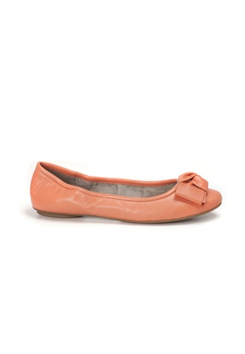 Shu Talk orange AMAZTEP NEW Comfy Sole Nappa Leather BOW Ballerina Ballet Flats D7A00SH9A0FBD6GS_1