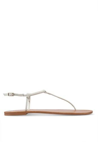 72ac11516 Shop MANGO Leather Straps Sandals Online on ZALORA Philippines