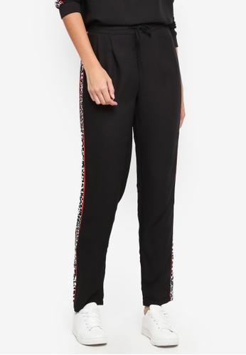 Pieces black Roxie Sweatpants E57E3AAE6AF742GS_1
