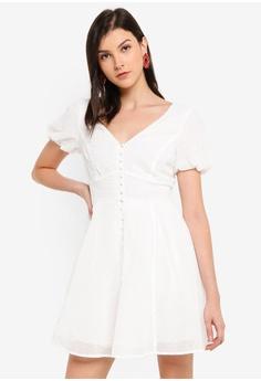 Womens Peach Lacy Fringe Bardot Summer Party Mini Shift Dress  8//10 10//12 12//14