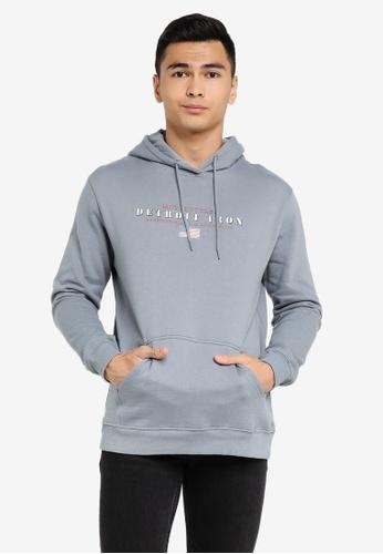 Cotton On grey Graphic Fleece Pullover B7CE4AA9BAAC08GS_1