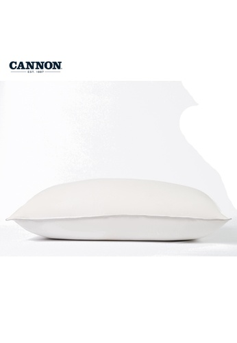 CANNON white CANNON Luxury Goose Down & Feather Pillow (Firm Support). 3AEF7HLF5F440DGS_1
